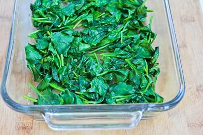 Spinach and Mozzarella Egg Bake ~ Delicious Food Recipes