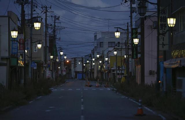 Green Pear Diaries, lugares abandonados, Namie, Fukushima, Japon