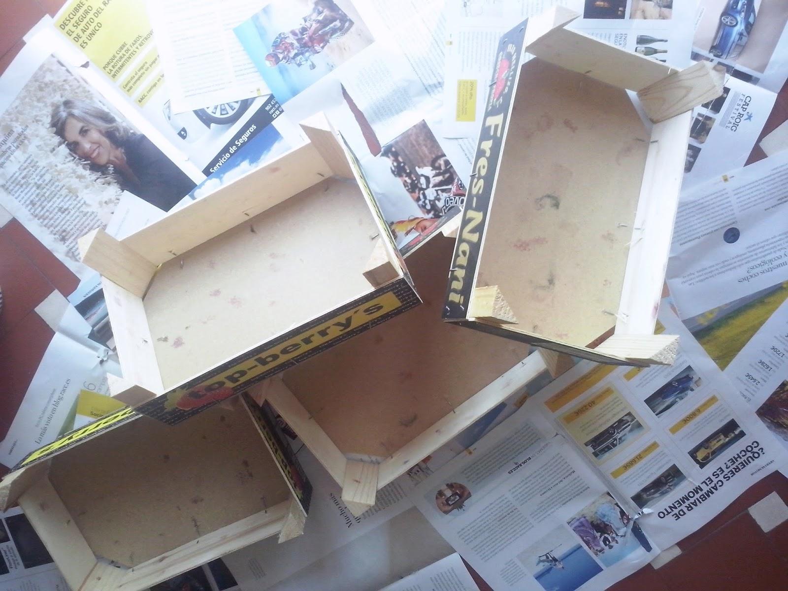 DIY cajas de madera