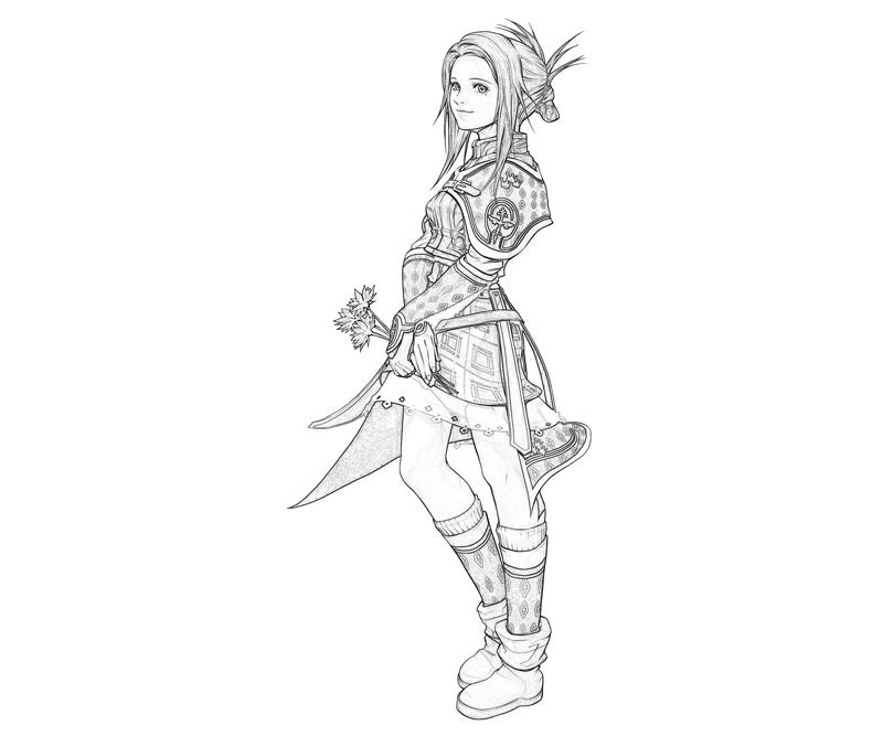 the-last-remnant-irina-sykes-cute-coloring-pages