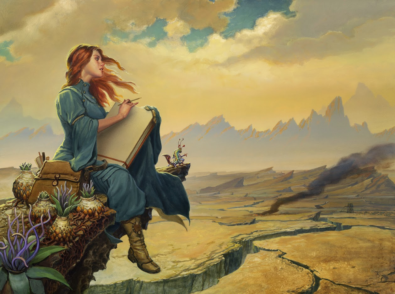 Pretty Book Cover Archive : Swords dragons and nerds michael whelan s painting of