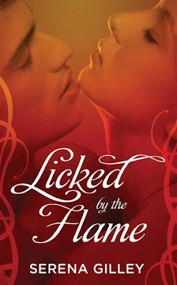 Licked by the Flame by Serena Gilley dragon shifter paranormal romance