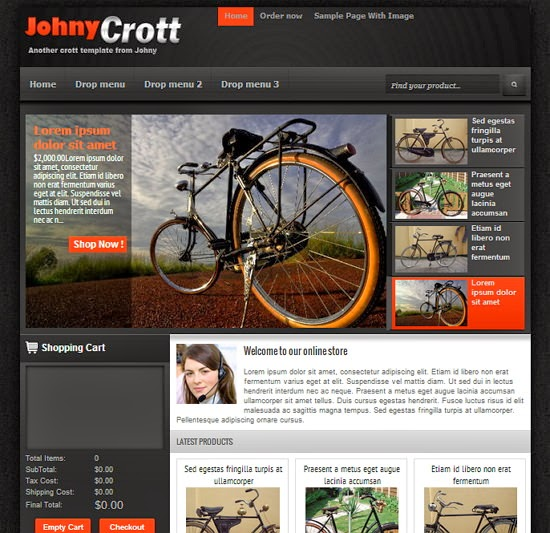 templates blogspot johny Crott