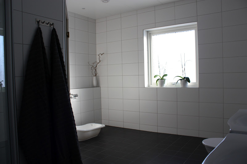 Vårt Aria: Badrum och groventré/tvättstuga