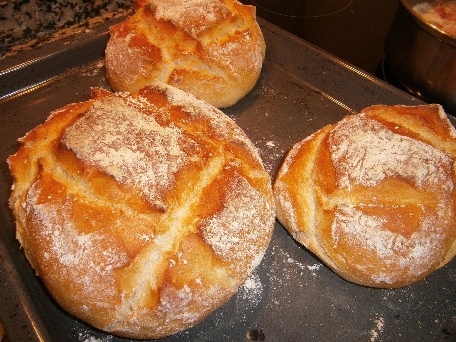 recetas de pan tradicional