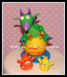 Topo de Bolo de Aniversário Draco - Baby TV