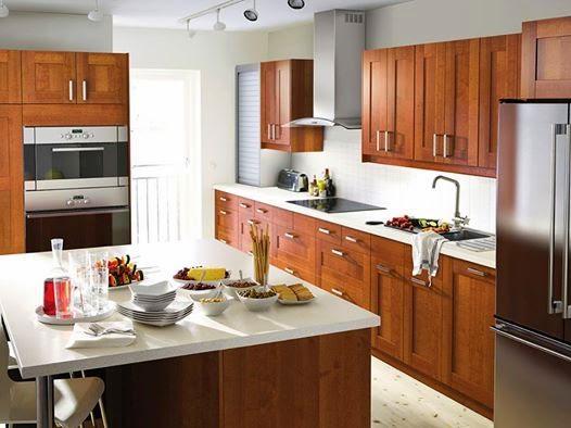 interior dapur rumah minimalis