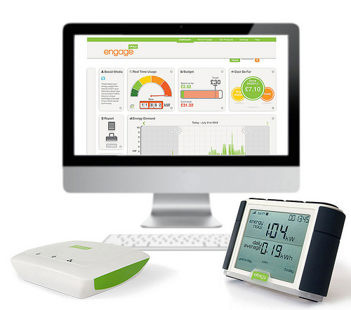 Home Energy Monitor : Sparks in spain use a home energy monitor to calculate