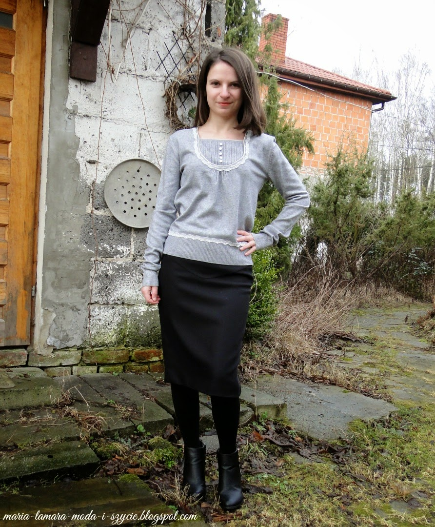 czarne spódnice