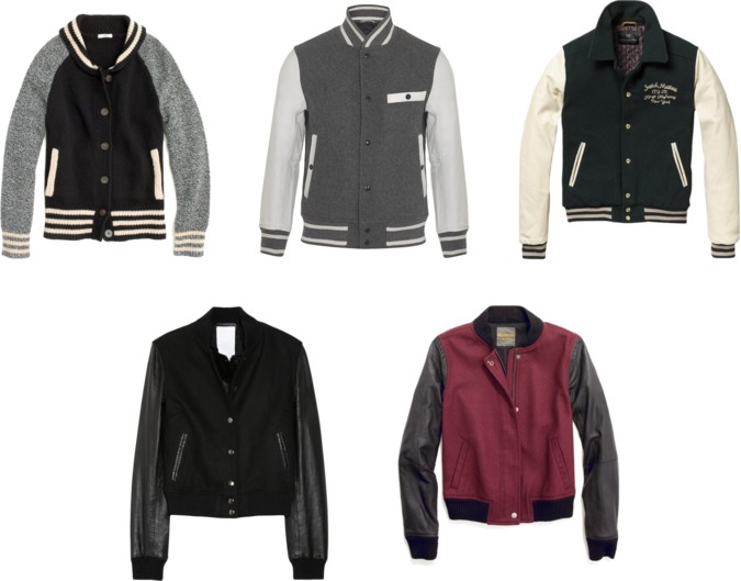 Madewell Letterman Sweater Jacket 27
