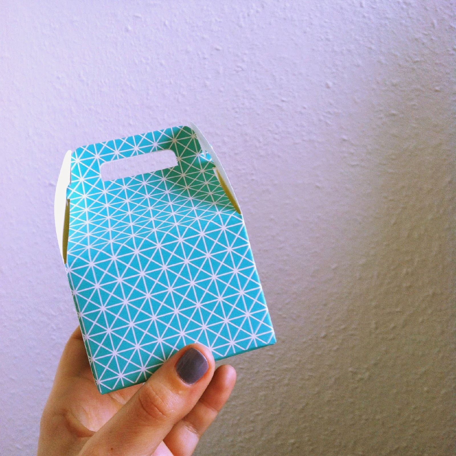 petite boite origami HEMA
