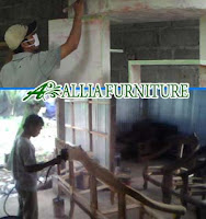 Proses Finishing Furniture Melamine Amplas Dasar