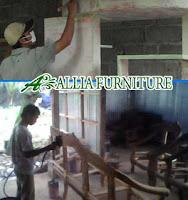 Proses Finishing Furniture Melamine Amplas Dasar