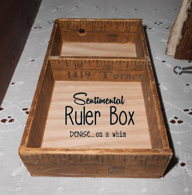 Sentimental Ruler Box: My Favorite Posts from 2013 via http://deniseonawhim.blogspot.com