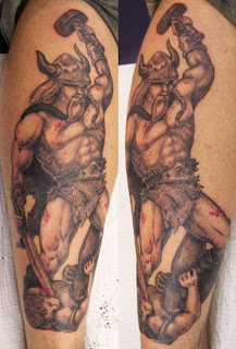 viking tattoo large designs