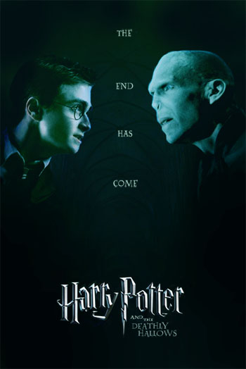 harry potter and the deathly hallows part 2 poster. I cannot wait till part 2