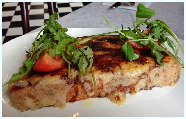 Rosylee Tea Rooms, Manchester - Welsh rarebit