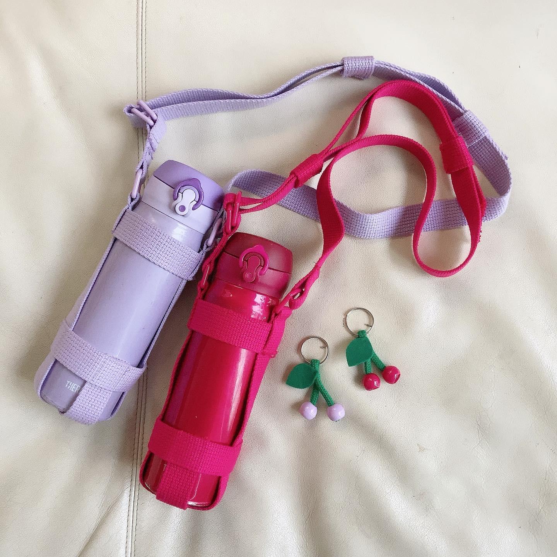 子どもの好きな水筒にぴったりの肩紐を作ろう!