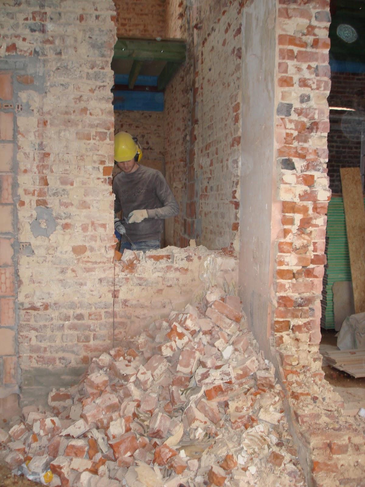 Lusthuizenlaan verder openingen maken for Vloerplan maken