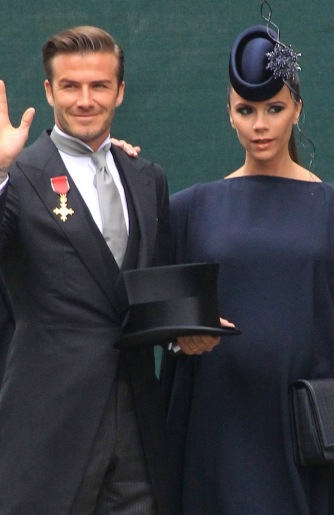 Beckham and Victoria