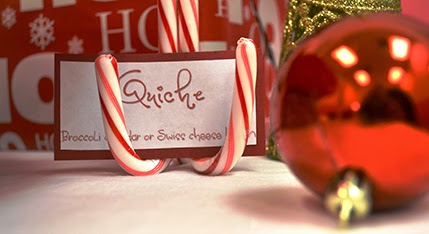 candy cane sign holder