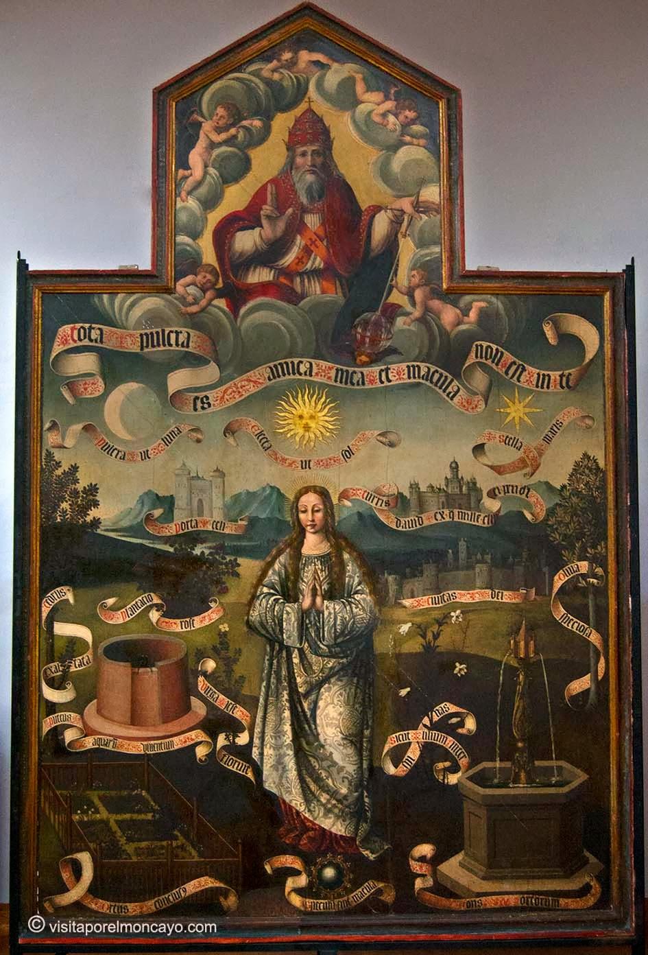 Puerta de la Huida a Egipto Iglesia Santa María Magdalena Tarazona