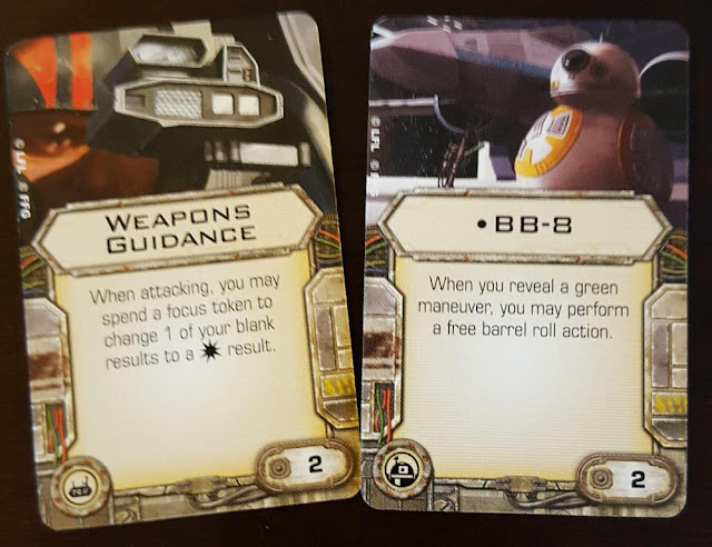 Force Awakens X-Wing Weapons Guiance BB-8