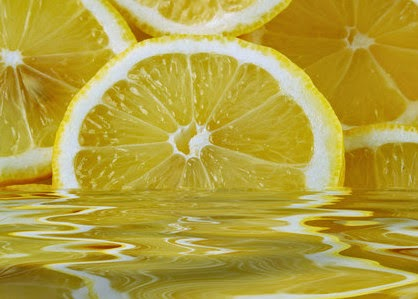 Lemon water for hair