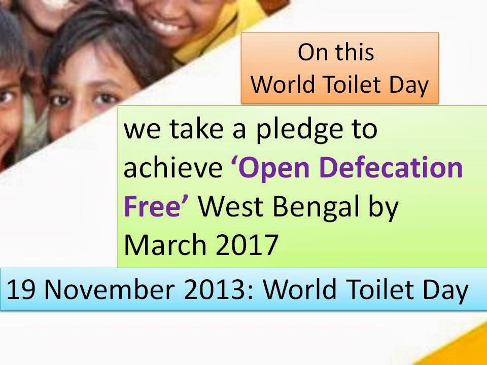 Pledge on World Toilet Day 2013 | Communication for Development ...