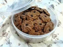 Resep Kue Semprit Coklat Bentuk Mawar