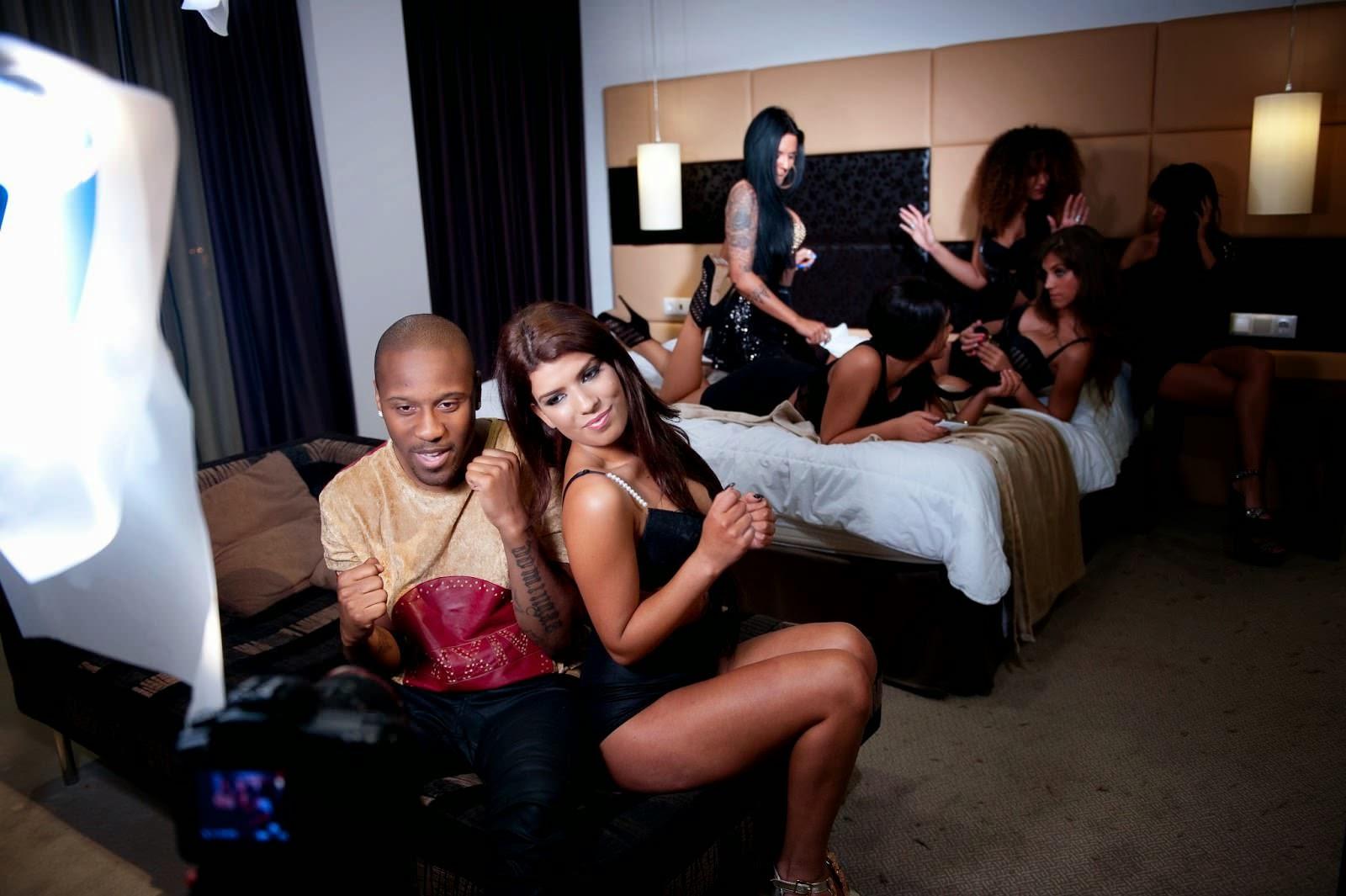 Fotografias sensuais de Sofia Sousa no Videoclip de Jey V