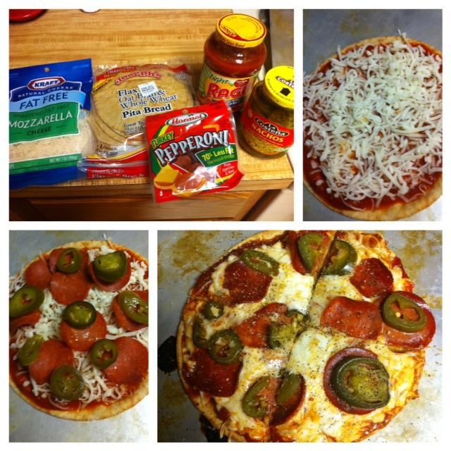Trainer in Training: Skinny Pita Pizza