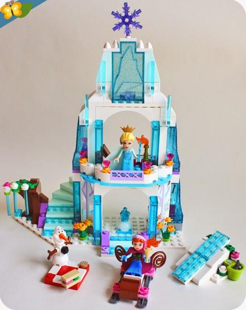 Livres et merveilles - Chateau elsa reine des neiges ...