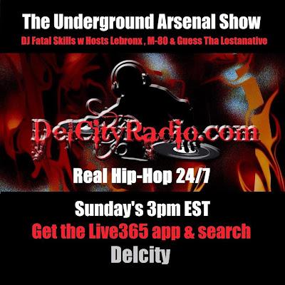 https://www.mixcloud.com/DelCityRadio/the-underground-arsenal-show-2-22-15/