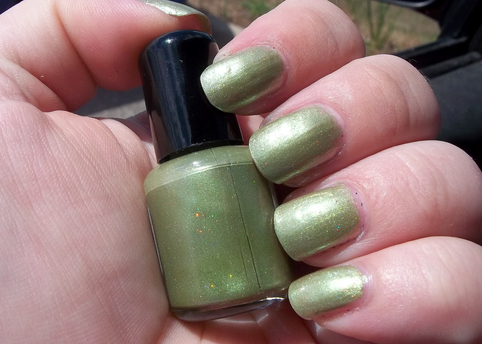 Not Too Polished: Alien Green: Hep Alien by KelBel Cosmetics