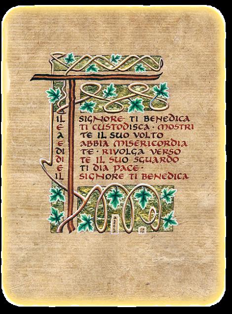 benedizione a frate leone testo latino dating
