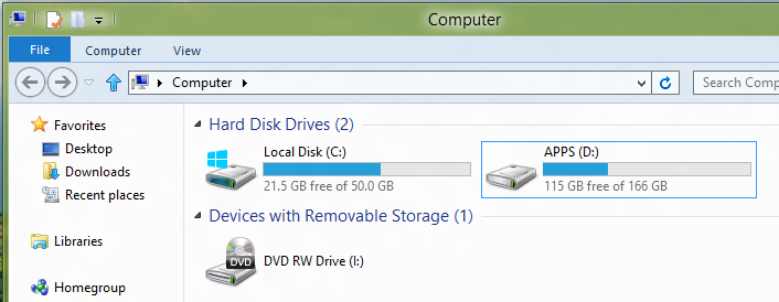 how to combine 2 partitions windows 7