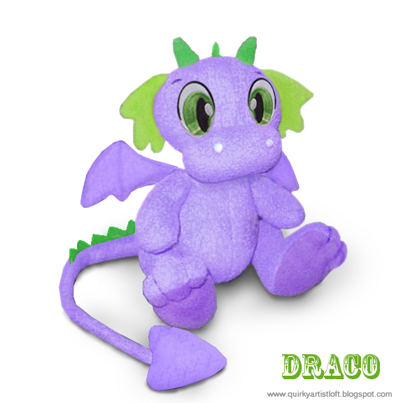 Quirky Artist Loft Free Pattern Draco The Dragon