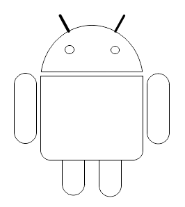 Androids Body layout Corel