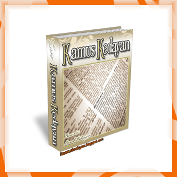 Kamus Kedayan eBook cover,Kedayan Dictionary