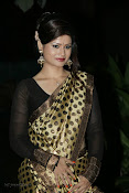 Anchor Shila Chakravarthy latest black saree Photos-thumbnail-1