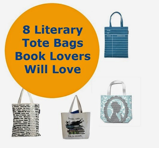 8 Literary Tote Bags Book Lovers Will Love