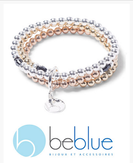 image Canadian Giveaway - beblue triple strand gold bracelet made in Canada