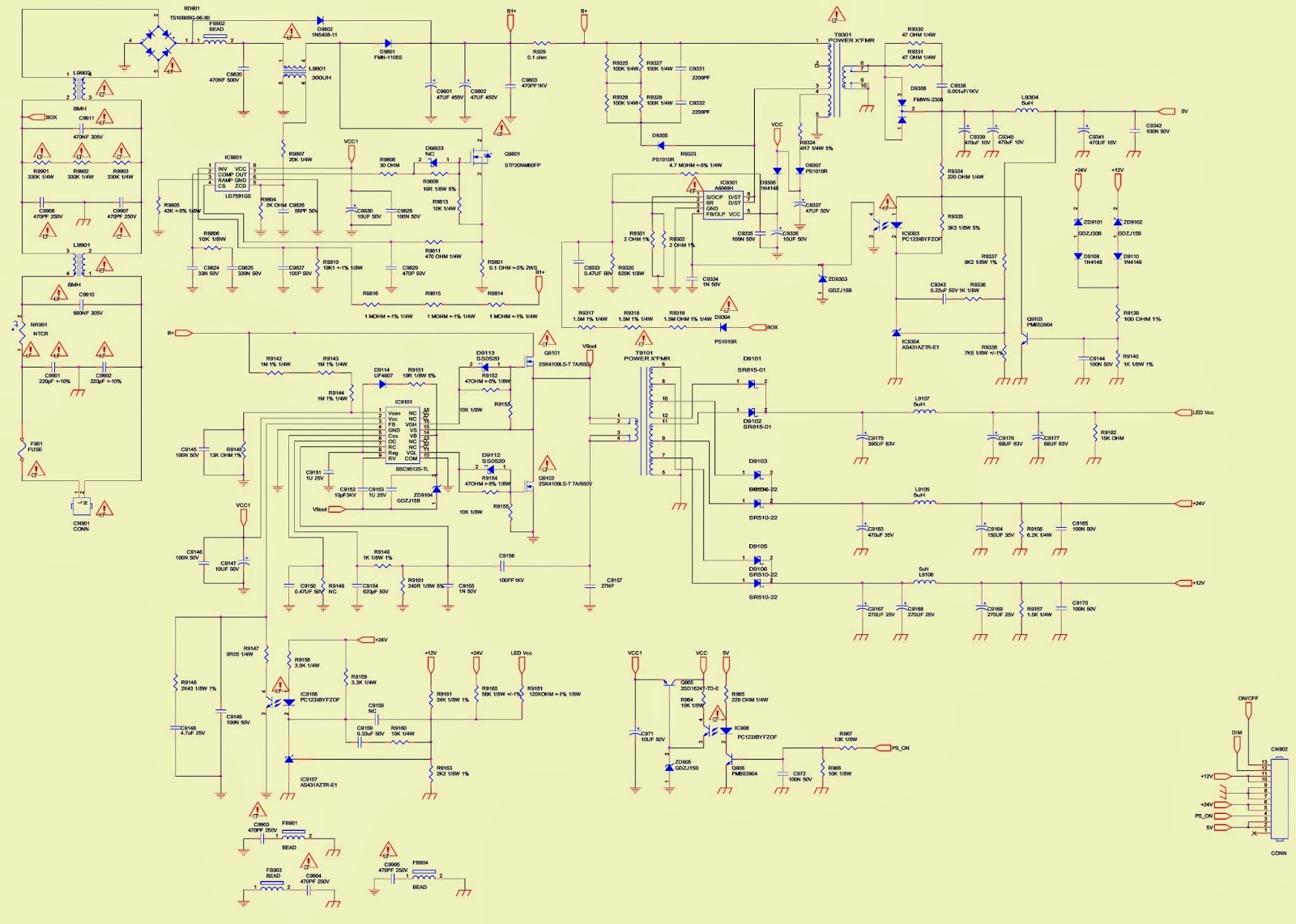 Dometic Capacitive Touch Thermostat Wiring Diagram besides Atec Haier 21 Inch Color Tv 21t5a Crt furthermore A6652 Microlab  puter Speaker System as well Draw Tite Wiring Diagram besides Razor Mx400 Parts. on troubleshooting diagrams