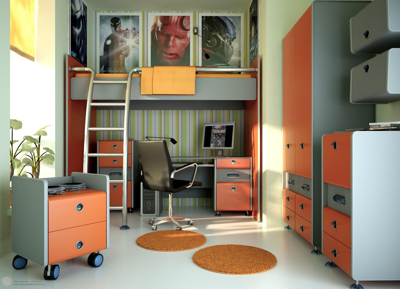 Chambres de l'adolescence mon