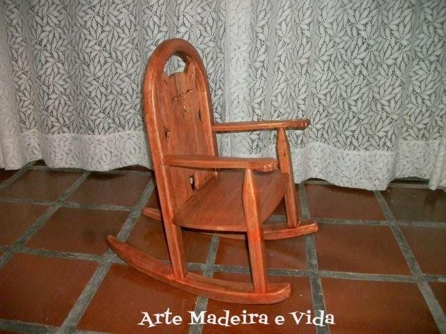 cadeira de balanço infantil - gatinho