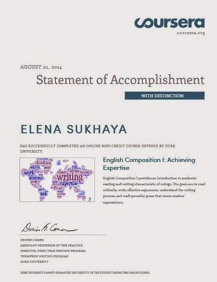 Coursera certificate resume. Speech hearing