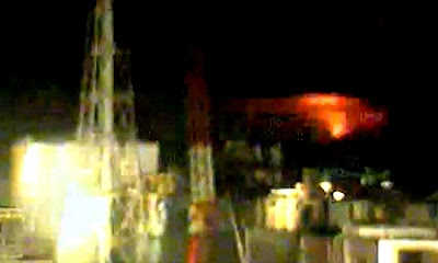 Mysterious Red Light Captured On 'Live Cam' at Fukushima Daiichi Plant Ruins