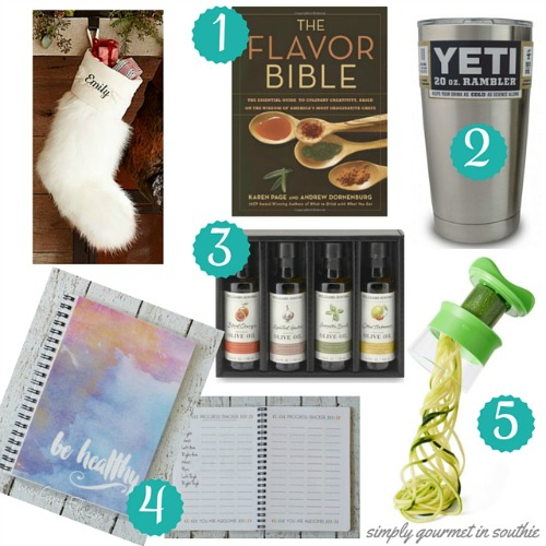 Boston Blogger Gift Guide for the Healthy Foodie