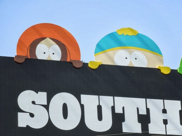 South Park season 17 Kenny and Cartman special billboard